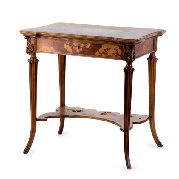 Emile Gallé Damen-Schreibtisch um 1900