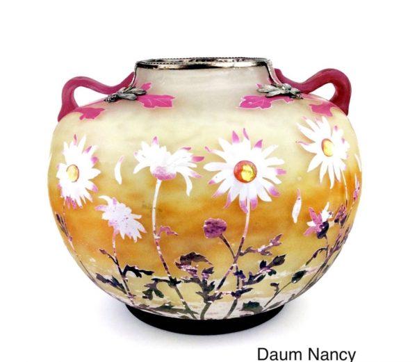 Daum Nancy Vase um 1900