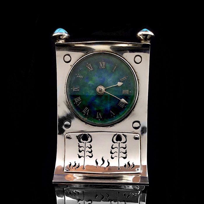 Archibald Knox Cymric Uhr 1903