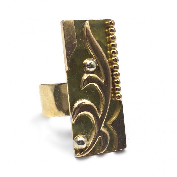 Jean Despres Ring Gold um 1960